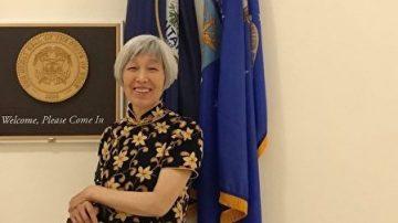 當我身穿旗袍約見美國議員的那一刻