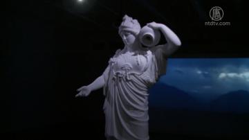 華裔雕塑家詮釋雅典娜:族裔包容