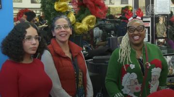 聖誕佳節 紐約市長白思豪社區做義工