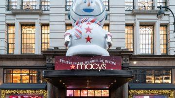 紐約梅西百貨櫥窗秀 小雪人拯救聖誕節