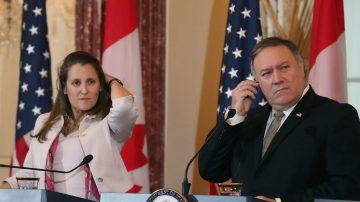 加拿大外長訪美 聚焦中共拘押加拿大人