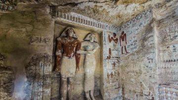 隐身山脊保存完好 埃及发现4400年前大祭司古墓