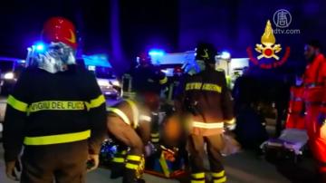 意大利夜店踩踏事故 釀六死十三重傷