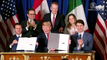 塵埃落定 美墨加正式簽署新貿易協議