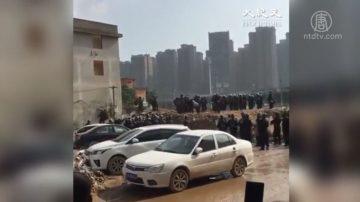 福州数百黑衣保安进村逼迁  打伤村民