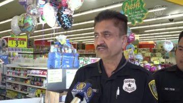 休斯頓警察中國城Fiesta募捐食品