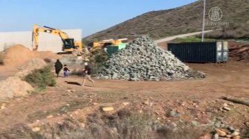 移民非法穿越美墨边境 川普再吁建墙