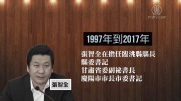受贿2400万 甘肃厅官张智全获刑14年