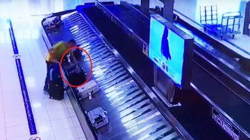 比利时男专偷机场行李 称在全球27机场犯案