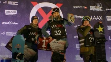 瑞士世界杯滑雪半管赛 美、澳年轻选手夺冠