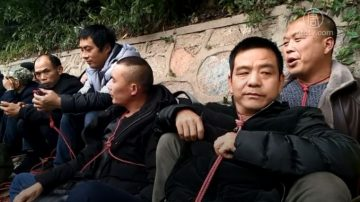 湖南尘肺病工友到深圳上访被遣返