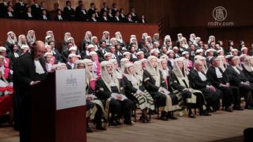 香港年度法律慶典 法官捍衛司法獨立