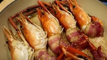 培根大蝦捲 超簡單做法(視頻)