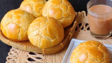 港式菠蘿包 酥脆鬆軟 美味可口(視頻)