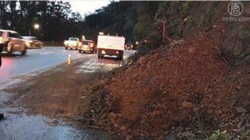 冬季風暴襲加州 多處公路關閉