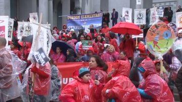 洛工会学区暂达协议 教师或周三返校
