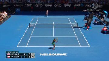 澳网男女单打四强产生 小威止步八强