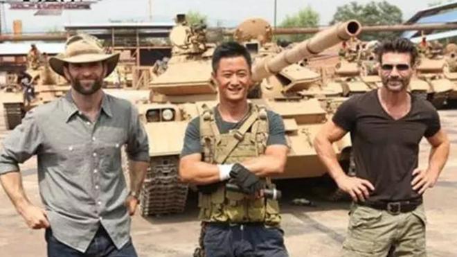 吴京拍《战狼2》坦克大炮何来?中共军方回应