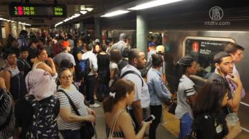 纽约通勤高峰延误高达92% 一二月最糟