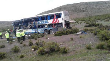 玻利维亚逾3千公尺高地两巴士对撞 22死37伤