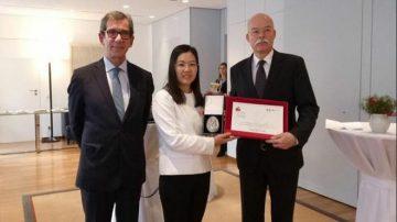 身陷囹圄 余文生律師獲國際人權法治獎