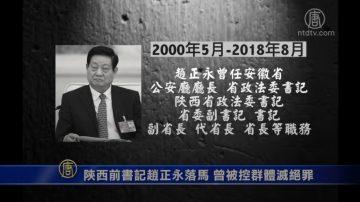 陕西前书记赵正永落马 曾被控群体灭绝罪