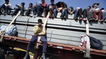 新增大篷車進入危地馬拉 川普再發邊境危機警告