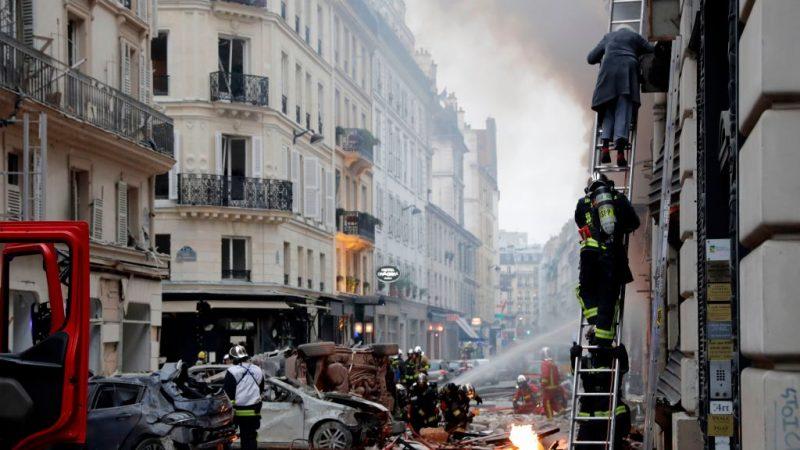 巴黎市中心面包店爆炸 威力强劲至少20人伤