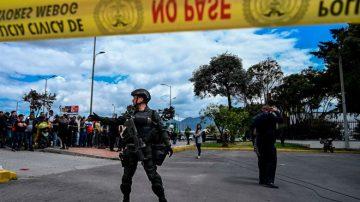 哥國警校遭汽車炸彈攻擊 現場混亂至少70死傷