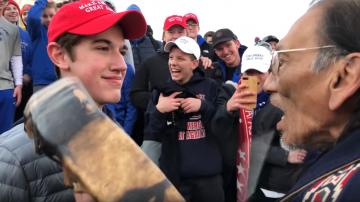 左派瘋狂鬧事致科文頓高中關閉 川普批假新聞邪惡