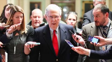 美國參議院提議案 促恢復聯邦政府運作