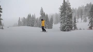 加州塞拉山區二月降雪破歷史紀錄