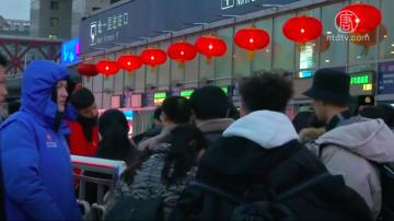 大年又到 移民工留京、返乡选择牵心肠