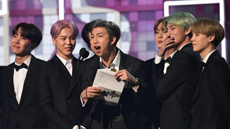 BTS夢想成真擔任葛萊美獎頒獎人 K-POP首例