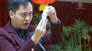 魔術表演為鶴園老人中心帶來歡樂