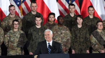 美副總統與國務卿訪波蘭 商討國際安全新挑戰