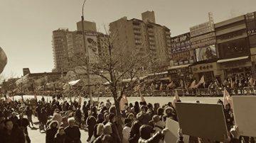 【禁聞】法拉盛新年遊行 紅旗佔街引反感