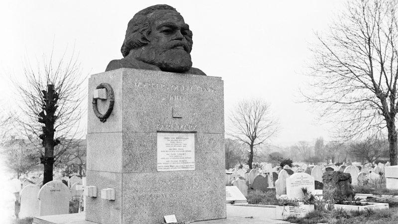 新年伊始中共「祖墳」出事 馬克思墓被砸毀