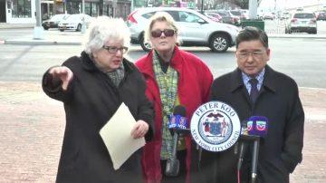 纽约北方大道光秃秃酿危机 议员吁画斑马线