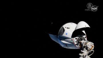 太空探索公司「龍」飛船和空間站對接成功