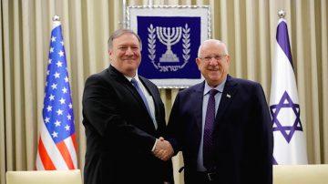 蓬佩奧訪問以色列 應對安全威脅