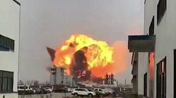 江蘇鹽城化工廠大爆炸 死傷慘重