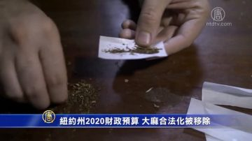紐約州2020財政預算 大麻合法化被移除