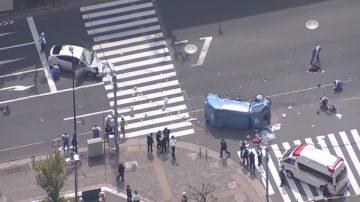 东京池袋老翁开车暴冲 酿11人轻重伤